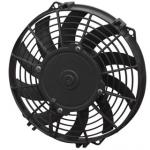 SPAL 9 INCH FAN 12V SUCTION TYPE CURVED BLADE